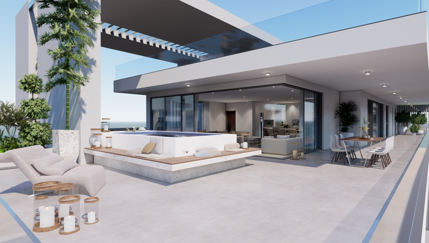 Soho Resorts Penthouse-Cyprus