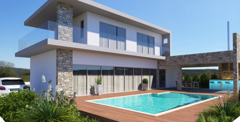 Detached luxury property for sale in Paphos, Cyprus