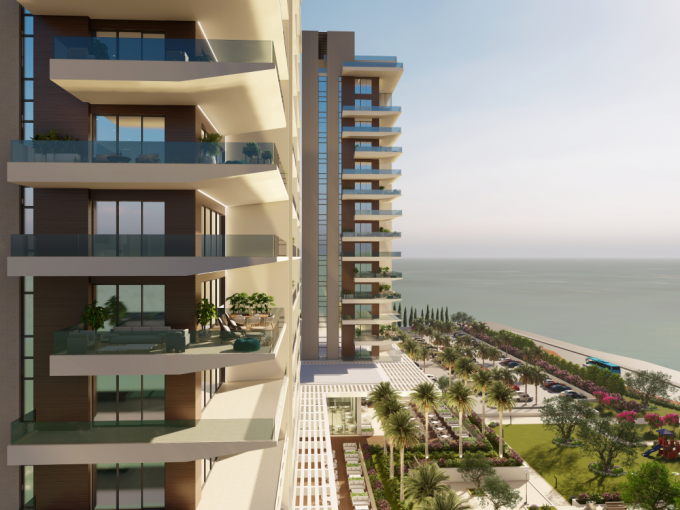 Luxury seafront apartments for sale in Paphos, Cyprus
