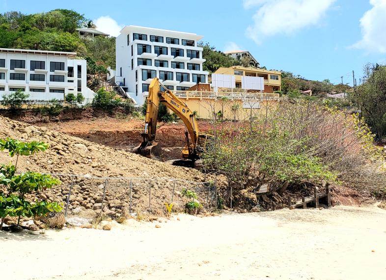 Kimpton Kawana Bay, Grenada - Construction surging ahead