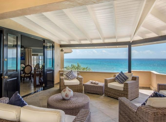 Beach fronted property for sale in Barbados, the Caribbean.