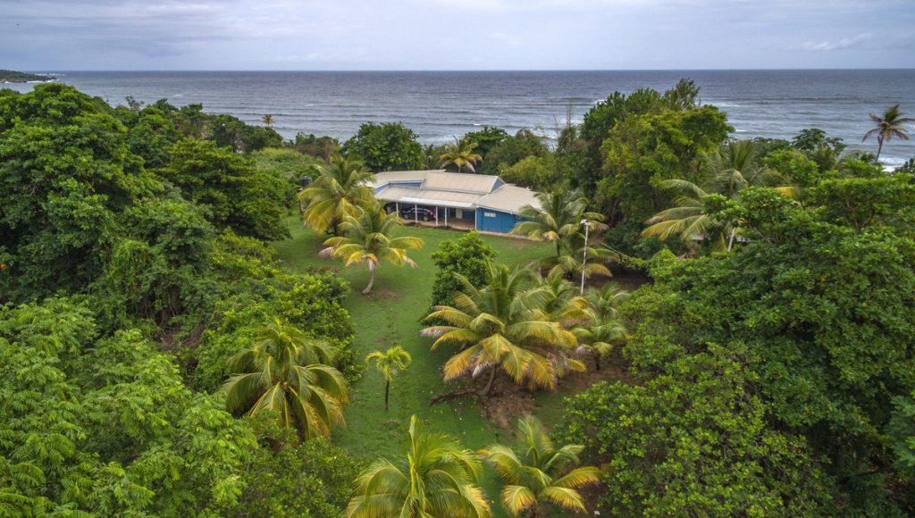 Beach fronted villa for sale in Trinidad and Tobago.