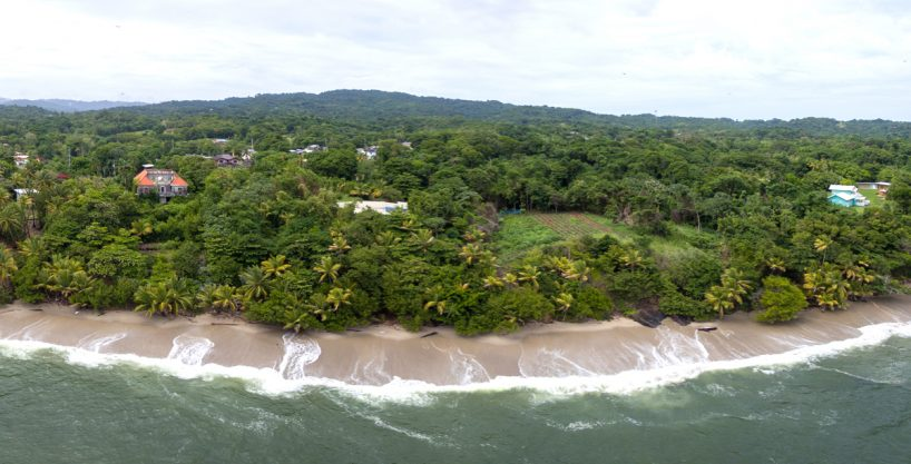 Beach fronted villa for sale in Trinidad and Tobago.