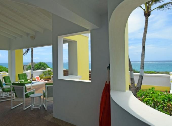 Beach view villa for sale in Barbados, the Caribbean.