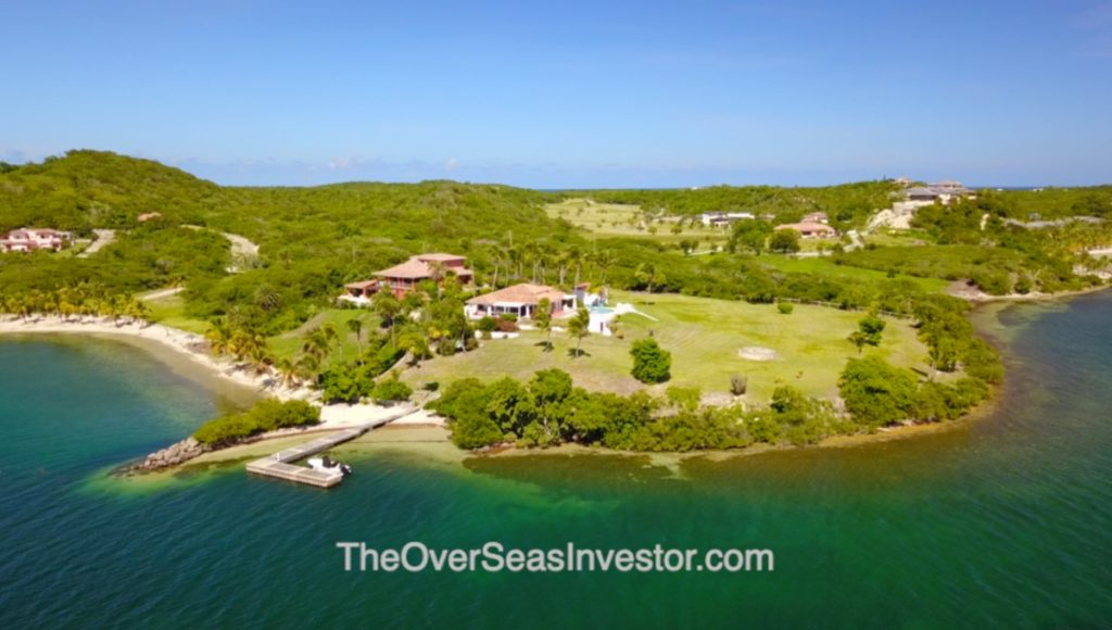 Luxury property for sale in Antigua. Ideal for permanent living and prestigious holiday home