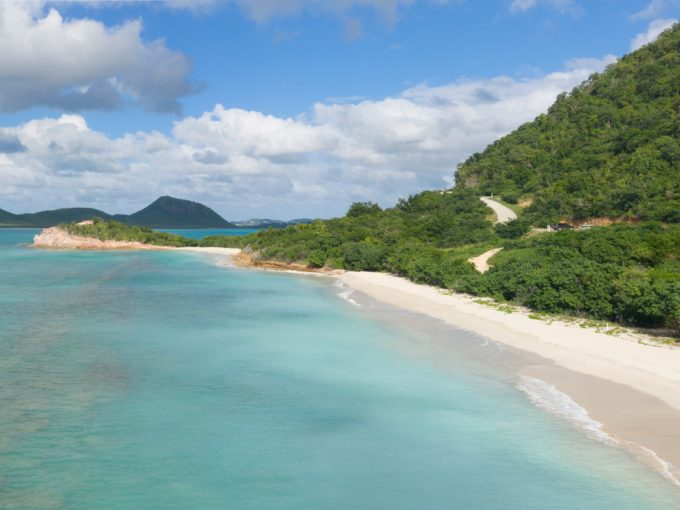 Unique plots of land for sale in Antigua, the Caribbean.
