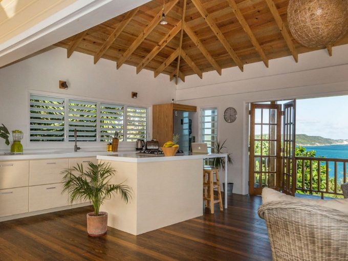 Sea view property for sale in Antigua, the Caribbean.