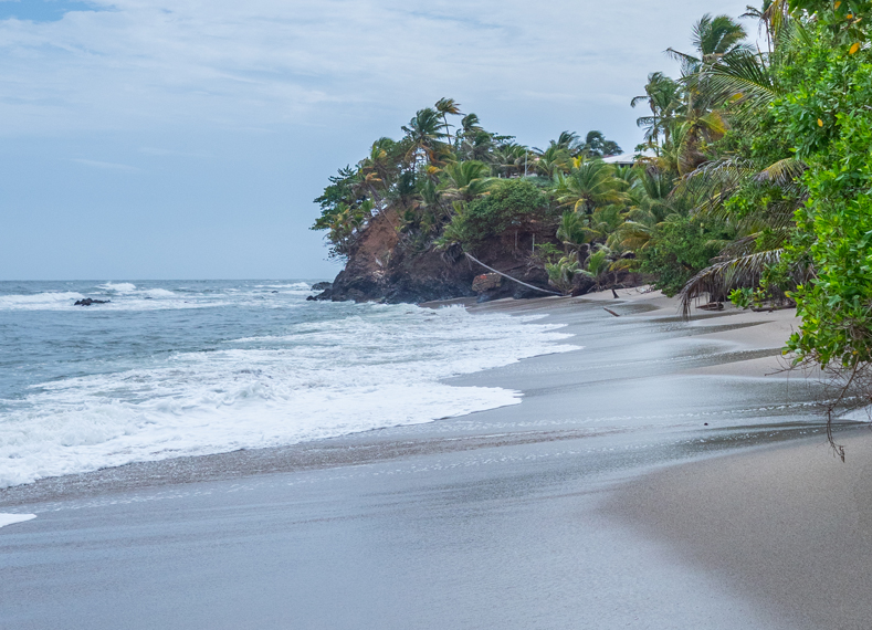 Beach fronted property for sale in Trinidad and Tobago.